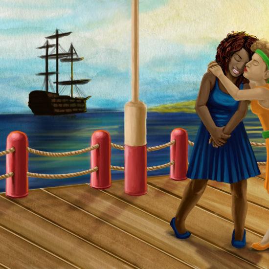 Ilustração Livro Trovinha das Cores e Amores 2
