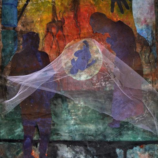 Pintura - Meu anjo tem sonhos tranquilos